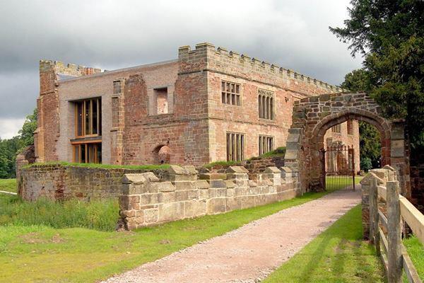 Astley Castle exterior.