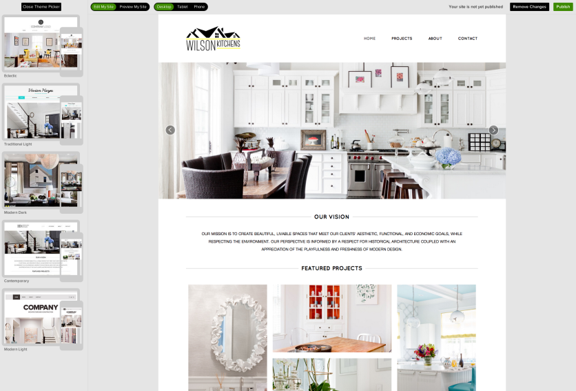 Houzz Vies for Tighter Links With Pros by Offering Free Website Design Tool