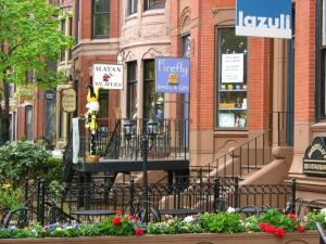 HOT SPOT: Tourism is still booming in Boston; Newbury Street's shops and restaurants are a popular destination.