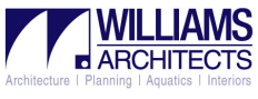 Williams Architects/Aquatics Logo