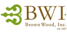 Brown Wood Logo