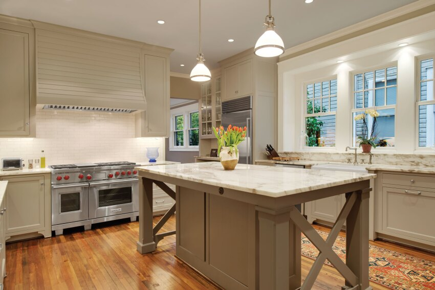 Kitchen Remodel Merges Style and Utility