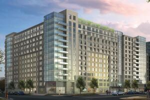 Archstone's First and M property in Northeast Washington, D.C.