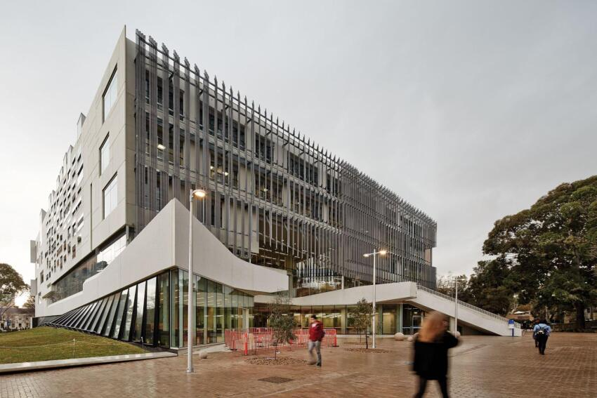 Faculty of Architecture, Building and Planning, designed by John Wardle Architects and NADAAA in collaboration
