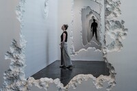 "Snarkitecture Co-Founder Daniel Arsham's ""The Future Was Then"" Installation on View at SCAD"