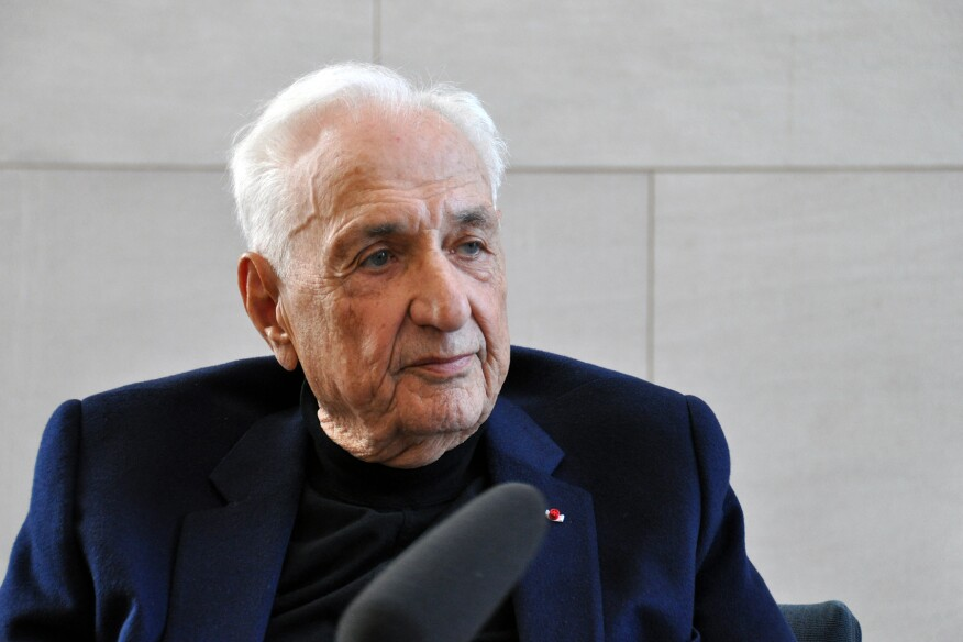 ARCHITECT interviews Frank Gehry, FAIA, on April 18, 2016