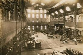 The Assembly Building At Clipper Mill