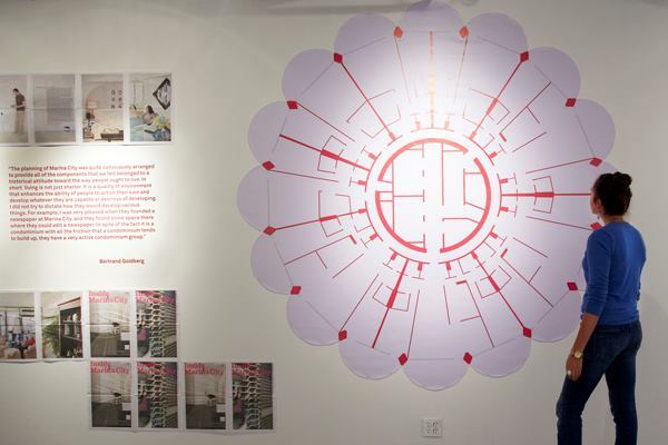 MAS Context's traveling exhibition, Inside Marina City, made a stop at the WUHO Gallery in Los Angeles.