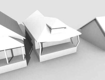 Design concept: Existing derelict house.
