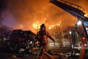 Edgewater NJ Fire