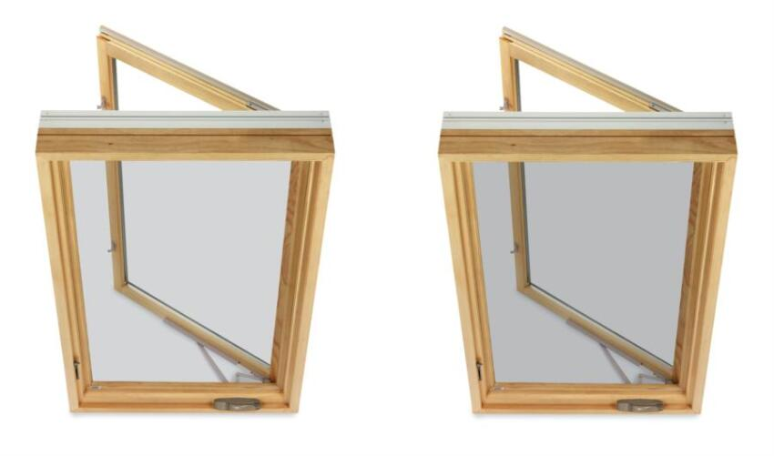 Low-Visibility Window Screens