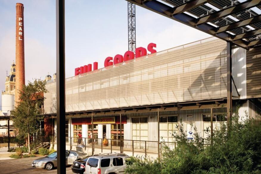2013 AIA COTE Top Ten Green Project: Pearl Brewery/Full Goods Warehouse in San Antonio, Texas, by Lake|Flato Architects
