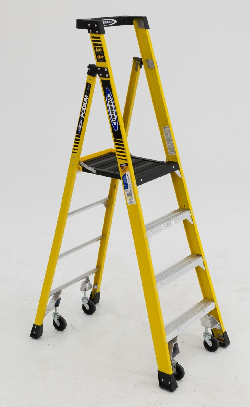 Werner Podium Ladders Move Easily With New Casters Jlc