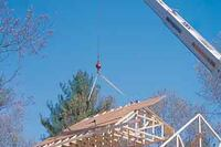 Building Truss Roofs The Safe Way