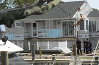 2 Contractors Hurt in Deck Collapse