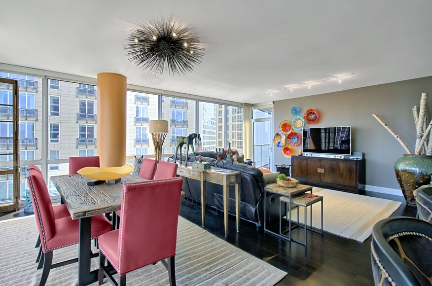 second home design: texas-rustic meets chicago-urban | custom home