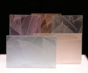 Duo-Gard. New to the company's line of translucent daylighting systems, these decorative panels come in an array of patterns and colors, including botanicals, rippling waves, and colored grids. Made of 100% recyclable acrylic or polycarbonate, the panels come in translucent styles, to allow diffuse light throughout the room's interior, or opaque; backlighting and LED illumination systems are available. www.duo-gard.com. Booth #1730.