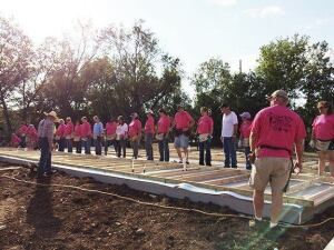 The Wichita Habitat for Humanity chapter works to build energy-efficient homes for low-income families.