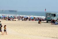 Sunbather Run Over by Lifeguard Truck