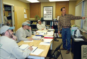 Doylestown, Pa., remodeler John Gemmi decreased slippage by sharing budgets with his four lead carpenters at weekly production meetings.