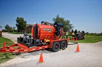 MV800 vacuum excavator from Ditch Witch