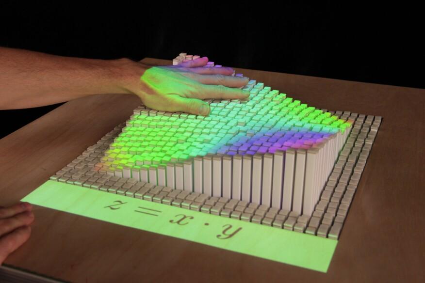 MIT Media Lab's InForm display.