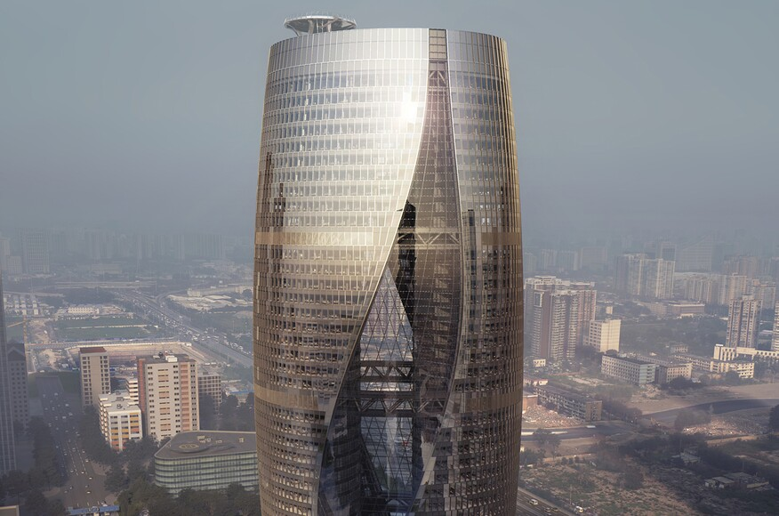 Leeza Soho Architect Magazine Zaha Hadid Architects