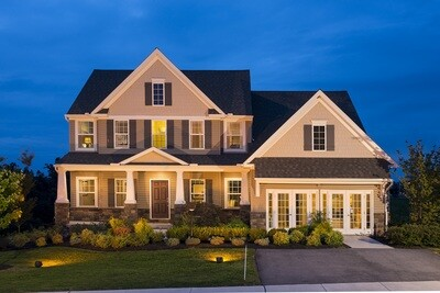 A model home at Rolling Meadows in York, Pa.