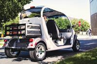 Polaris GEM compact electric vehicles
