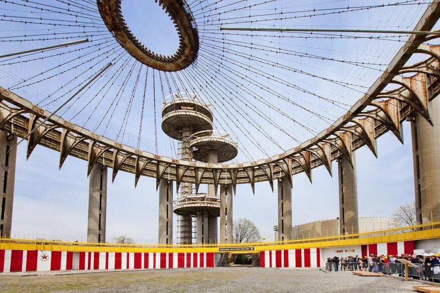 Philip Johnson's New York State Pavilion