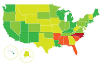 LEED and Building Rating Policies States Map