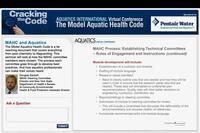 Aquatics International Virtual Conference: Cracking the Code