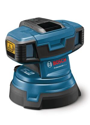 Find uneven areas with Bosch's surface laser.