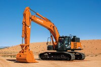 Hitachi's Upgraded Dash-6 line Excavators