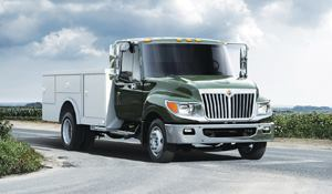 Navistar's light-duty Terra Star uses advanced exhaust gas recirculation to meet 2010 emissions standards. No diesel exhaust fluid (DEF) is needed. Photo: Navistar International Corp.