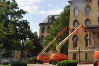 Notre Dame Landmark Restored Under Cover of Darkness