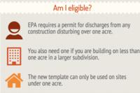 EPA Streamlines Stormwater Permit Template
