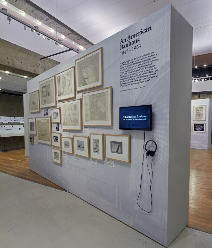 """The """"American Bauhaus"""" part of the Pedagogy & Place exhibition"""