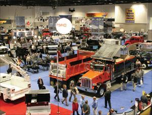 The Work Truck Show is a great opportunity to learn the latest about equipment  and services from truck manufacturers.