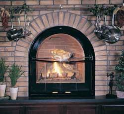 Direct-vent gas fireplaces are easy to install and design around.