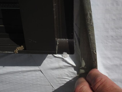 "While poor workmanship is common, sometimes I come across damage during forensic investigations where it appears the installers attempted to follow manufacturer's guidelines, but leaks still occurred. In these cases, I suspect the flashing material was stressed beyond its material limitations when the installers stretched it across the ""X-Y-Z"" juncture at the sill, and despite all attempts to apply patches in the corner, the installation failed."
