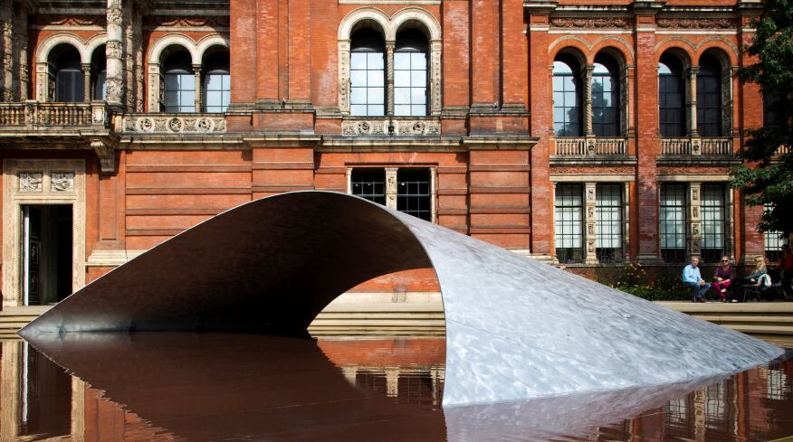 """""""Crest"""" will be on display at theVictoria and Albert Museum through Oct. 24."""