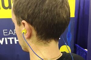 Plugfones: Wireless Earplugs With Audio