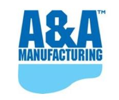 A & A Mfg. Logo