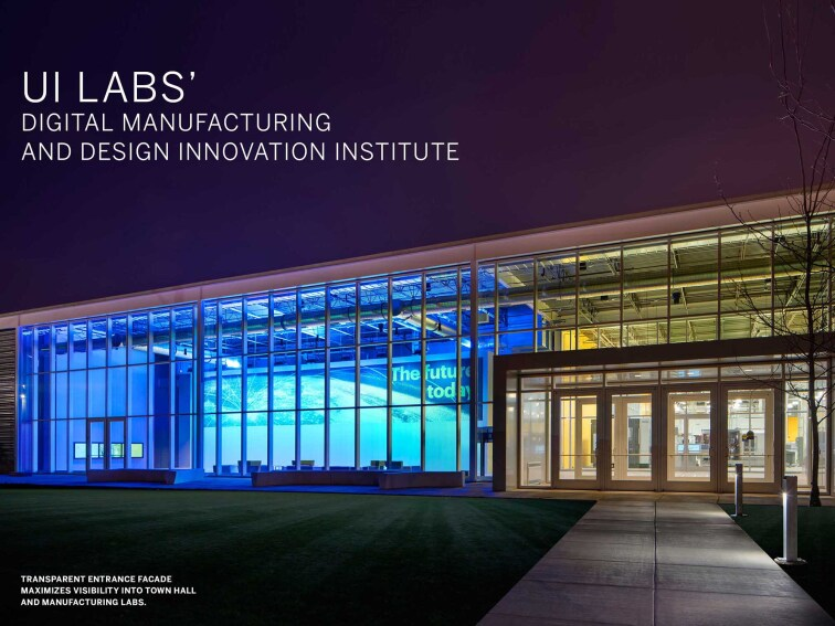 UI Labs' Digital Manufacturing and Design Innovation Institute