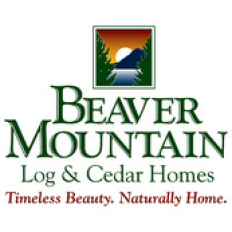 Beaver Mountain Log &  Cedar Homes Logo