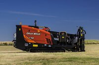 Horizontal directional drill offers unbeatable power in a compact package