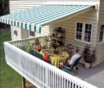 Increasing popularity with homeowners and ease of installation make awnings  a good upsell opportunity.