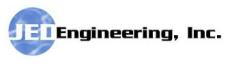 JED Engineering, Inc. Logo