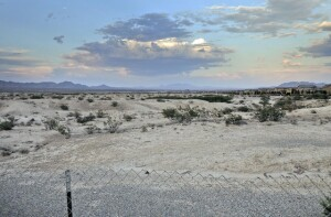 The future site of The Villages at Tule Springs in North Las Vegas.